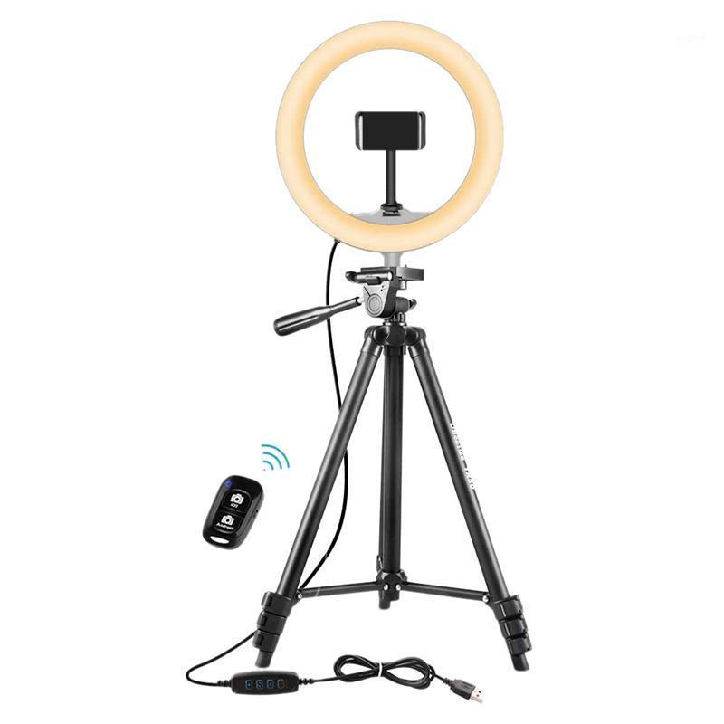 Cabeças de flash Abdz-Light Anel com suporte de tripé, até 130 cm Selfie para transmissão ao vivo, vídeo, maquiagem, pogograma.1