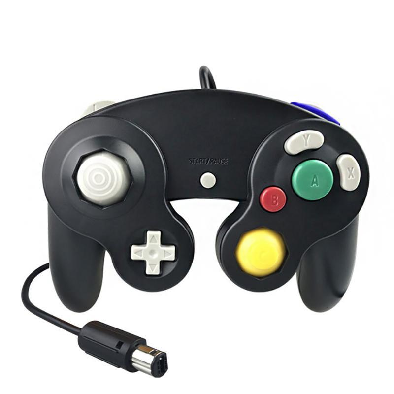 Game Yeni Oyun Kontrolörü Gamepad Joystick Altı renk için GameCube Oyun Kontrolörü Gamepad Joystick