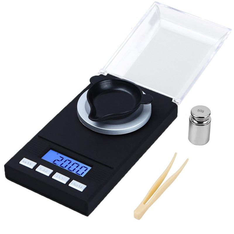 100 جرام / 0.001 جرام مقياس الالكترونية المحمولة مصغرة الدقة المجوهرات الرقمية مقياس المطبخ مقياس الرقمية قياس أداة الإبداعية هدية