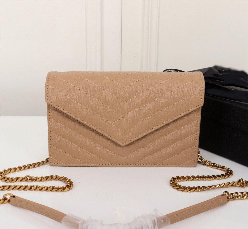 27720Hohe Zahl Schulter gemacht echte Tasche Seriengeldbeutel Handtasche Inside Frau Tasche Tasche in Kupplung Leder Qualität EMMMDC