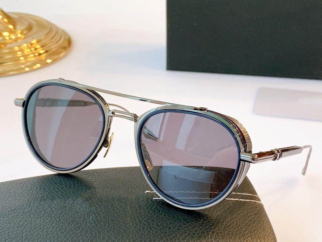 Hot marque de haute qualité lunettes de soleil hommes détail multi-classique d'une fraîcheur moderne avec étui à lunettes