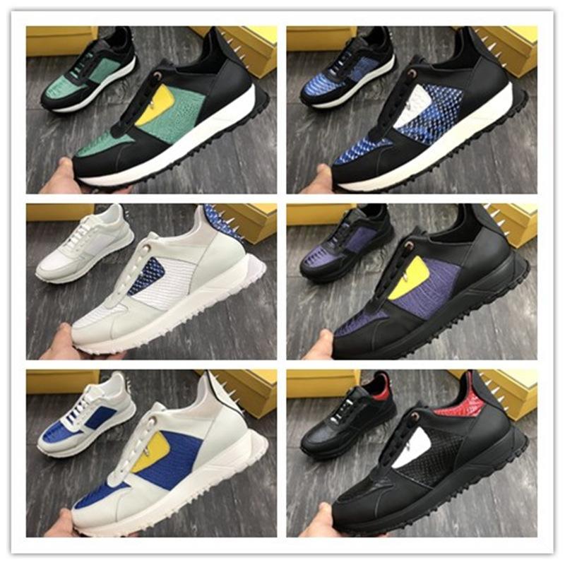 Erkek kadın Siyah Alt Spike Spike Rahat Ayakkabılar Sneakers Moda Deri Siyah Kırmızı Spike Baba Ayakkabı Elbise Rhinestone Perçin Sneakers Si