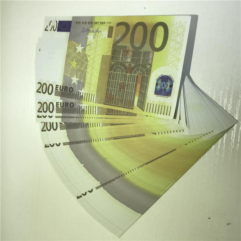 Hochwertige nicht markierte Euro-Banknote-Kopie Banknoten-Requisimulation 20 50 Euro Geld echte falsche Banknoten-Requisiten X11