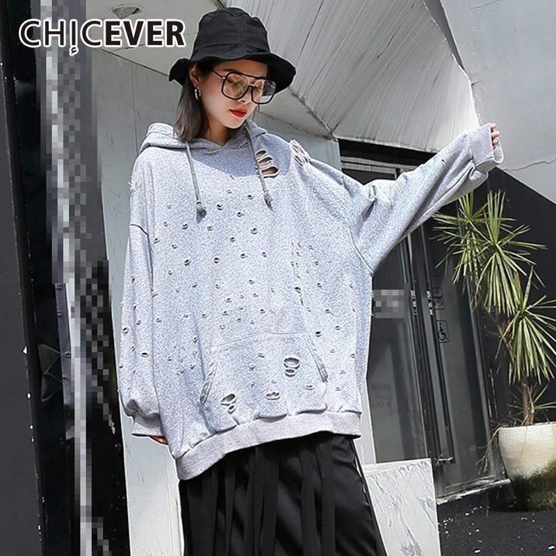 المرأة هوديس بلوزات سترات الخريف هول البلوز للنساء عارضة فضفاض مقنعين طويلة الأكمام قمم الإناث البلوفرات الأزياء 2021