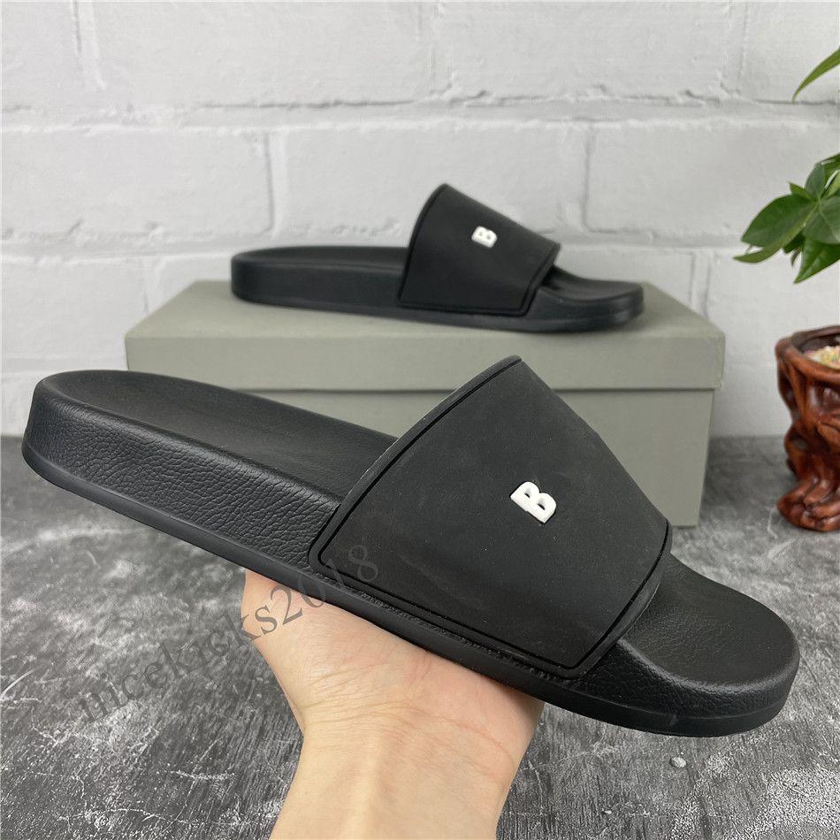 Paris Erkek Bayan Terlik Yaz Sandalet Scuffs Plaj Slaytlar Eğlence Terlik Bayanlar Sandali Banyo Ev Ayakkabı Trendy Ofis Terlik