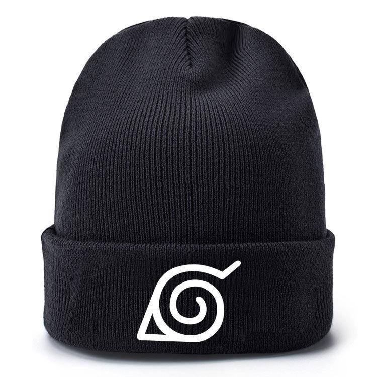 Uzumaki Naruto Karikatür şapka erkekler kadınlar Örgü Cap Örme Şapka Skullies Sıcak Kış Unisex Kayak Hip Hop