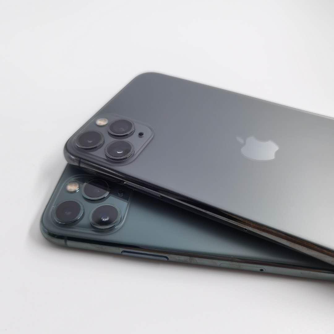 Telefone Hexa núcleo 4GB RAM 64GB 256GB ROM Desbloqueado celular 2020 Original Recuperado de Apple iPhone 11 Pro Max 6,5 polegadas