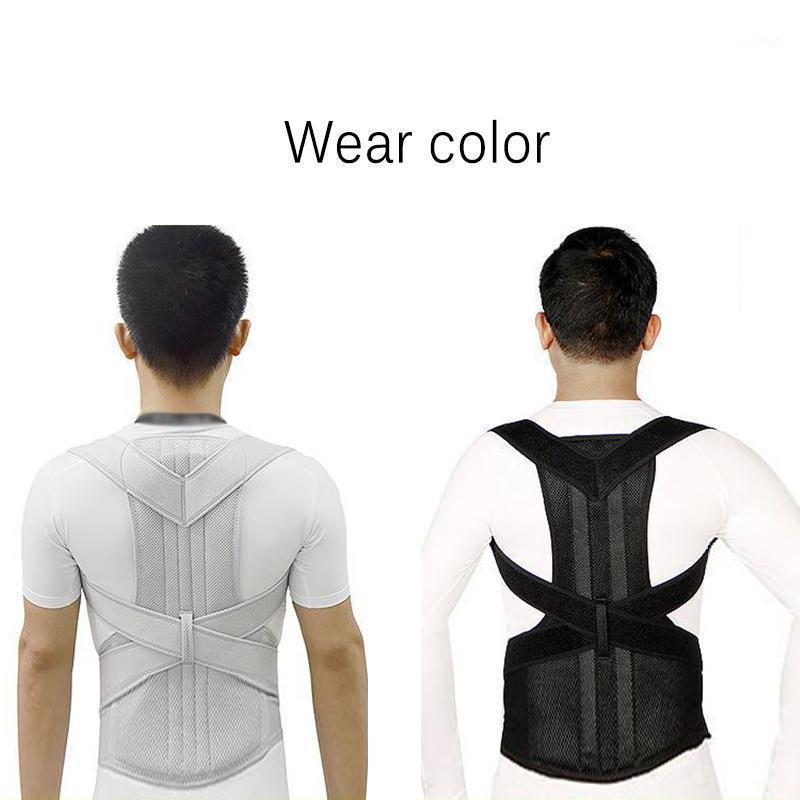 Waist Support Posture Corrector Strap Brace Belt Back Shoulder Lumbar Correction High Strength Breathable Fitness Equipment1