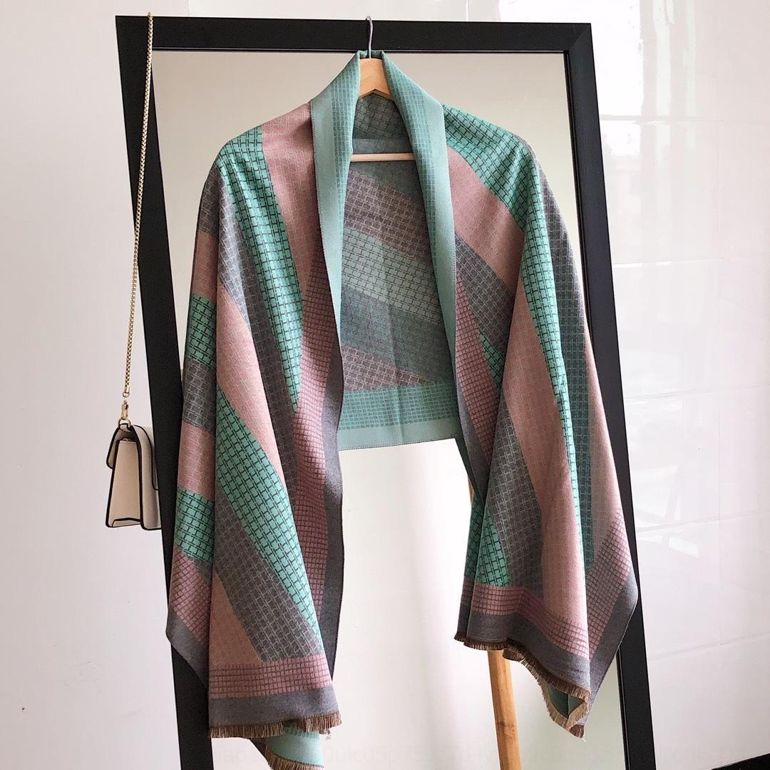 Moda klasik ipek Kış Kadın kaşmir eşarp tasarımcısı Yeni Geliş Şal dener simplescarf Fular yazmak Mektupları Eşarplar Boyut niq3