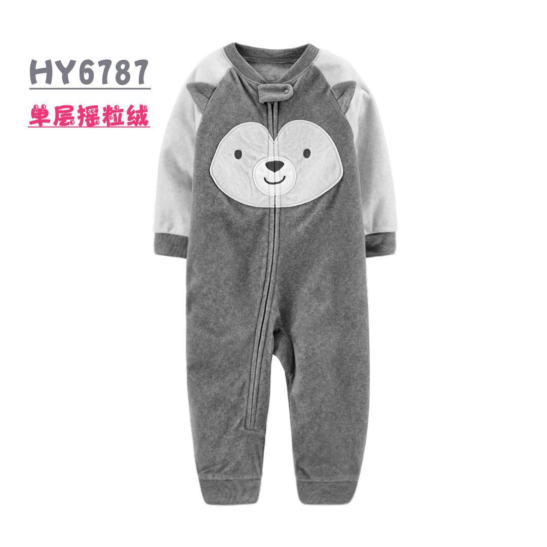 Одежда для младенцев мальчиков пижамы верхней одежды мальчика камуфляж молния комбинезон ватка зима пижама теплого девочку ползунки новорожденных вещи LJ201023