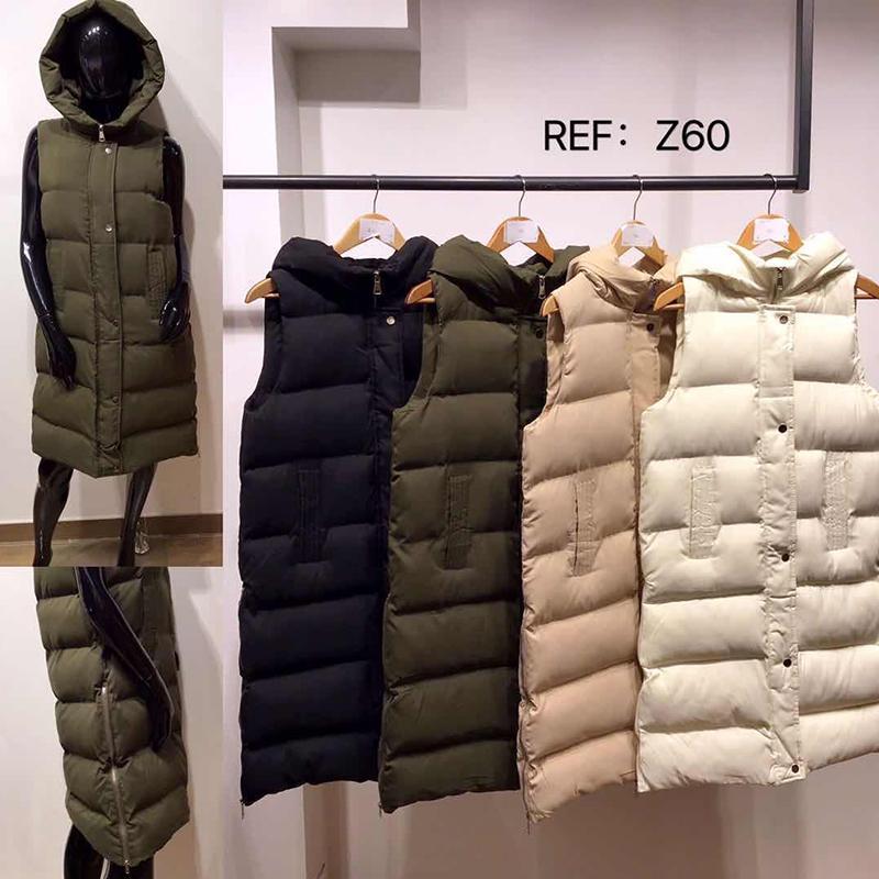 Invierno 2020 Nueva capucha chaleco de bolsillo de la chaqueta caliente el chaleco de moda corazón de nuevo acolchada sin mangas de las mujeres puede ser al revés desgastadas