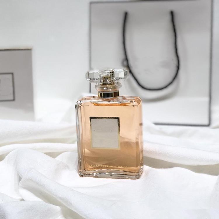 여성을위한 향수 동일한 레이디 향수 핑크 컬러 EDP100ML EDP 긴 지속되는 향기가있는 고품질 빠른 배송