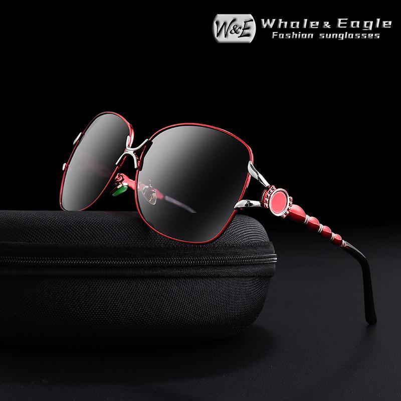 Gradiente Sra. UV400 Gafas Gafas de sol Polarizadas Lujos de lujo Las mujeres We Butterfly Whenfly Sunglass de diseño de moda de gran tamaño de la marca Tonnp