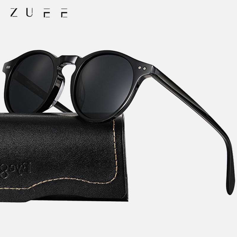 Oculos polarized designer runde männliche weibliche sonnenbrille retro brille sonne uv400 zue2020 gafas marke goggles vintage männer frauen qlrws