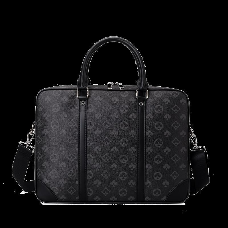 Briefcases Fashion Designer da 14 pollici Cartella per computer portatile Borsa business per uomo Grande capacità Borsa a tracolla in pelle da uomo 361