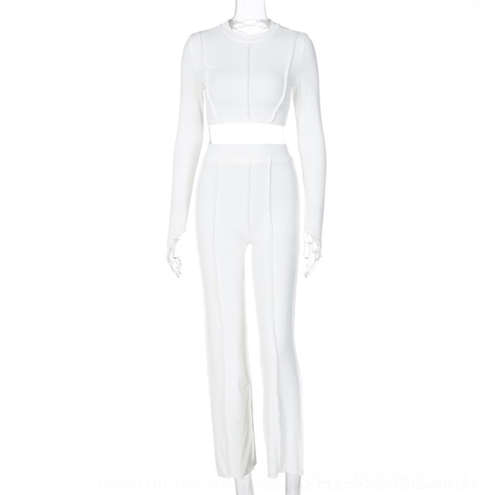 2BCD donne maglioni set girocollo manica lunga ff primavera signore abiti abiti casual femmina cashmere cardigan set 2 maglione pezzo designer