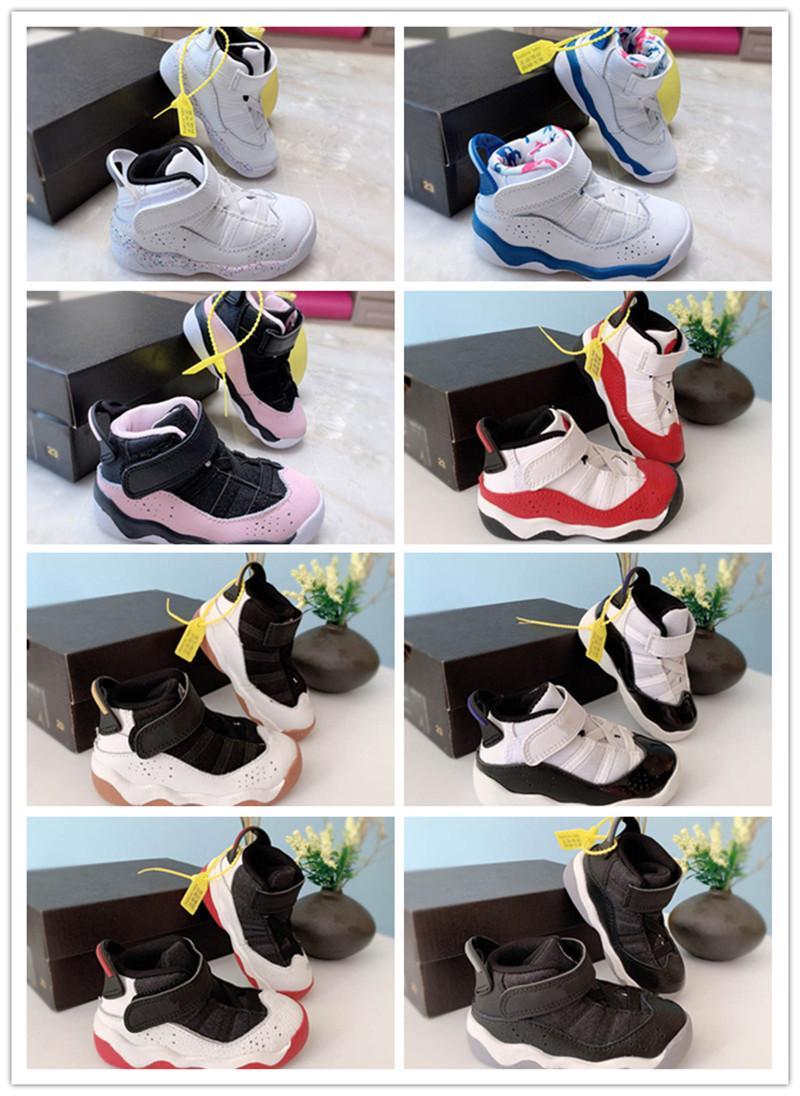 Чистые белые дети бегущие кроссовки мальчики и девушки спортивные туфли черные белые коричневые открытый спортивный размер 22-37