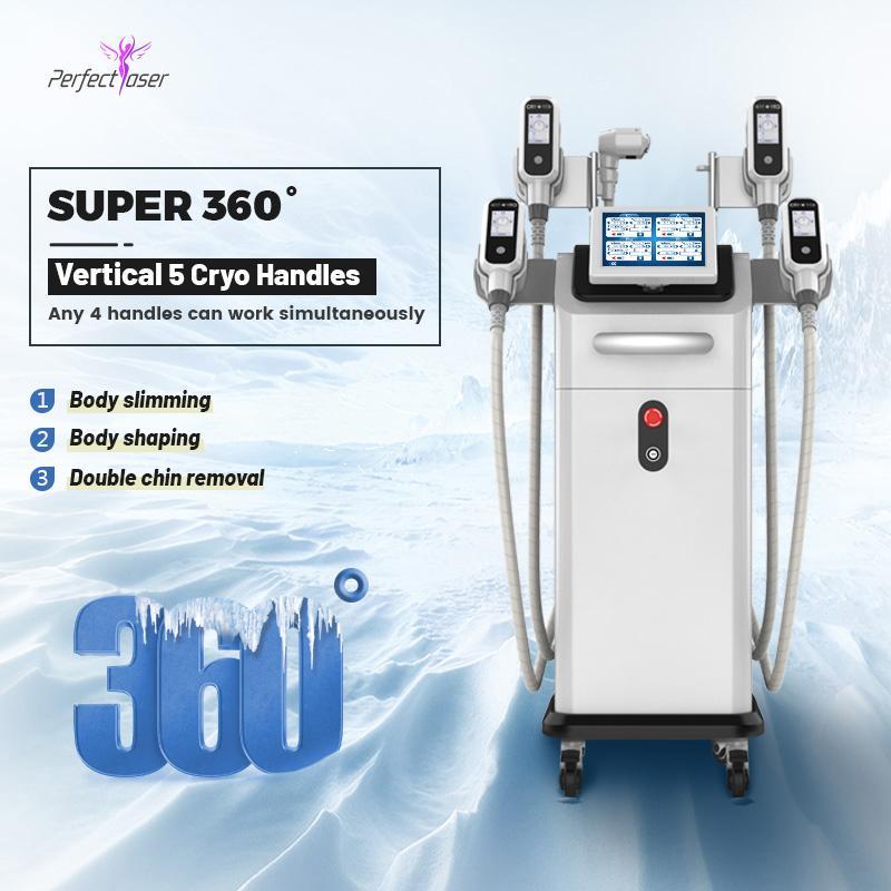 Equipamento de salão de beleza Cryolipolysis Máquina Slim para face e corpo gordura perda cryo lipo máquina cryolipolysis gordo congelar a máquina