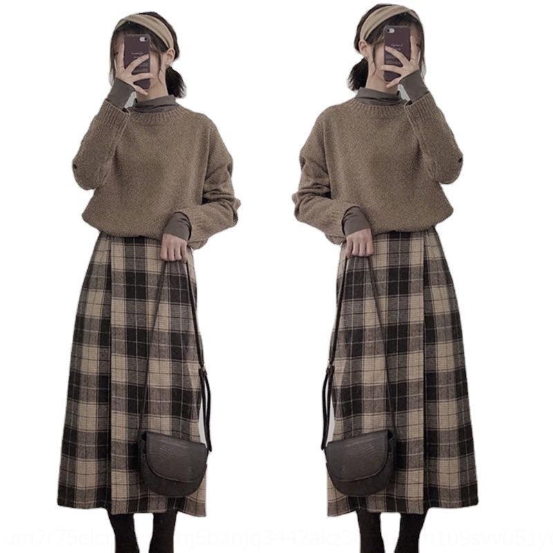 VDJTA COLOR LADYA богиня юбки свитер Ingenuitya Professional Girl со сладкой Фригранчо из двух частей костюма свитера и Skirtaut