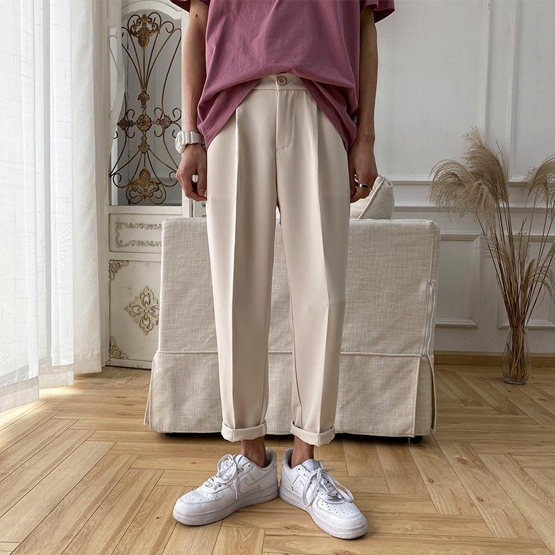 homens coreano Harem Pants sólido Harajuku Mulheres Casual Calças 2020 Streetwear homem frouxo Preto Calças 3XL