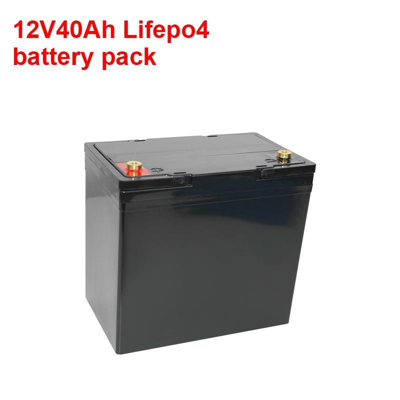 Derin döngü LIFEPO4 12.8 V 30AH 45AH 50AH Lityum Pil 12 V 40AH Güneş Enerjisi, Yacht, RV için BMS ile