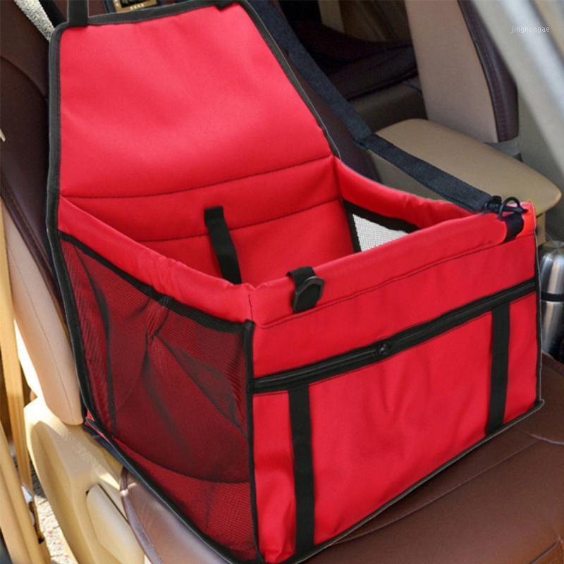 Taşınabilir Köpek Araba Koltuğu Pet Araba Koltuğu Taşıyıcı Seyahat Çantası Köpek Kaynağı (Kırmızı) 1