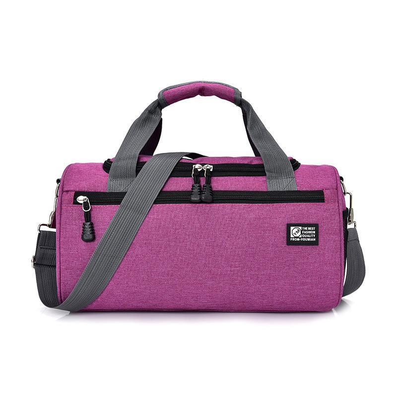 Pequeño viaje corto bolsas de viaje Mujeres hombres Crossbody Bolsa de hombro Travel Bolso de equipaje Mensajero Mensajero Bolsos Bolsos Bolsos de lona