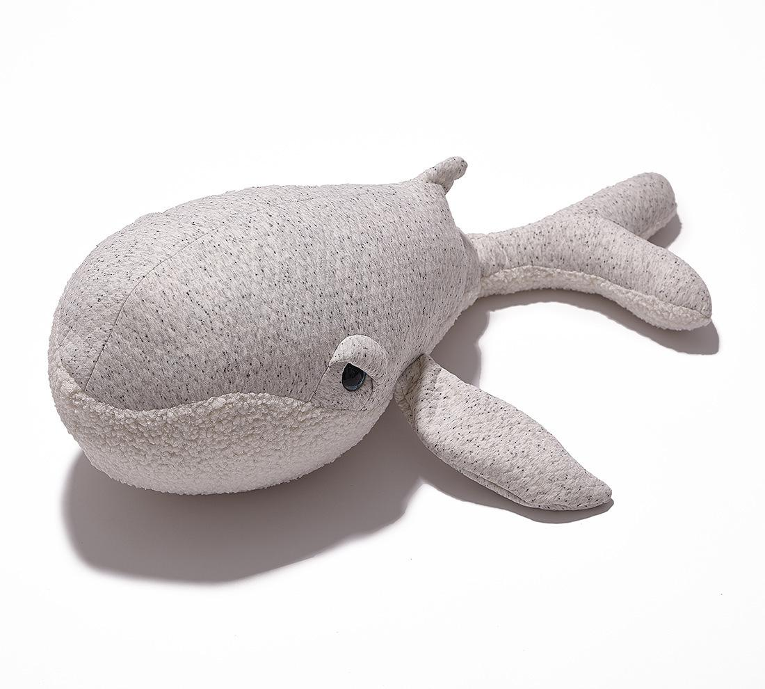 Creative Home decor Pillow Lovely Stuffed Soft Plush doll Cushion dolphin for Kids Baby Toy Gift 90*30cm T200113