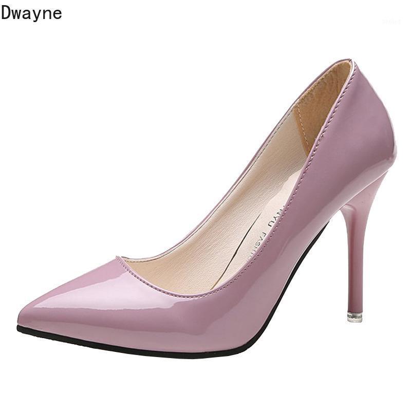 2020 Новая корейская версия диких шпильковых на высоких каблуках мода сексуальная заостренная высокие каблуки1
