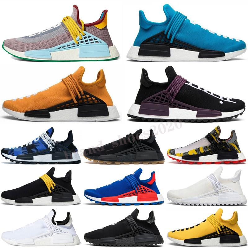 Originals NMD R1 V2 Zapatos humanos Ejecutar zapatillas solares para mujer Soul Williams Camo Pharrell Deportes Tinta para hombre entrenadores infinitos Blanco resplandor