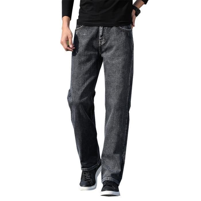 Quente Inverno Jovens soltos Heavyweight Homens Denim Jeans 2020 de Moda de Nova Magro Roupas Masculinas