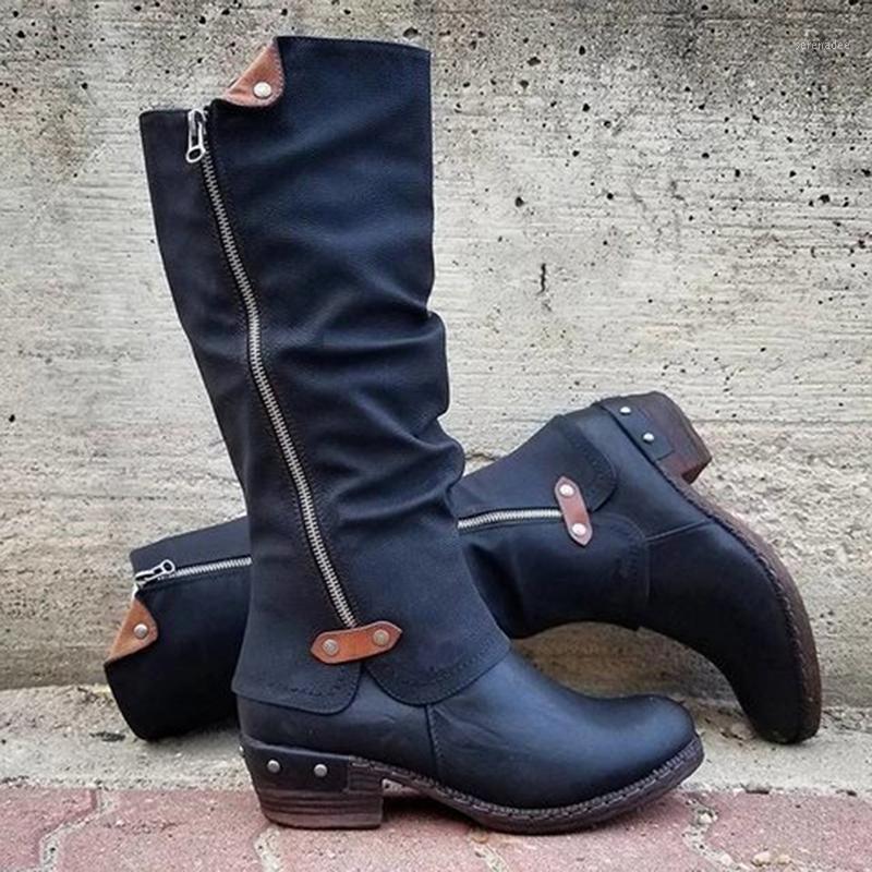 Schlanke Stiefel Sexy über dem Knie Hohe Frauen Stiefel Damenmode Oberschenkel Hohe Schuhe Frau Winter und Herbst1