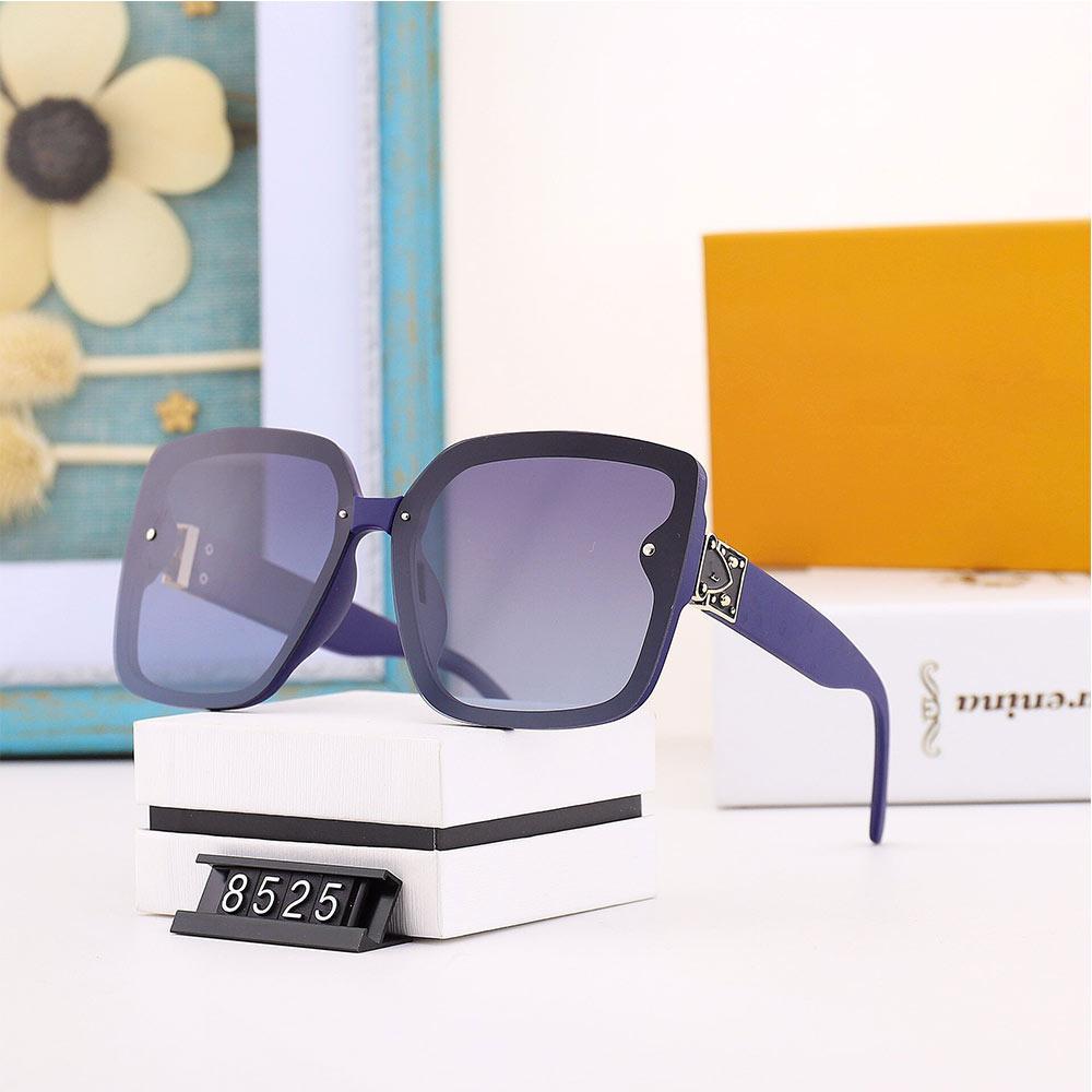 Brand di alta qualità Womans Sunns Occhiali da sole Brand New Glasses Mens Occhiali da sole Designer Designer Occhiali da sole Occhiali di lusso con scatola L267 glitter2009