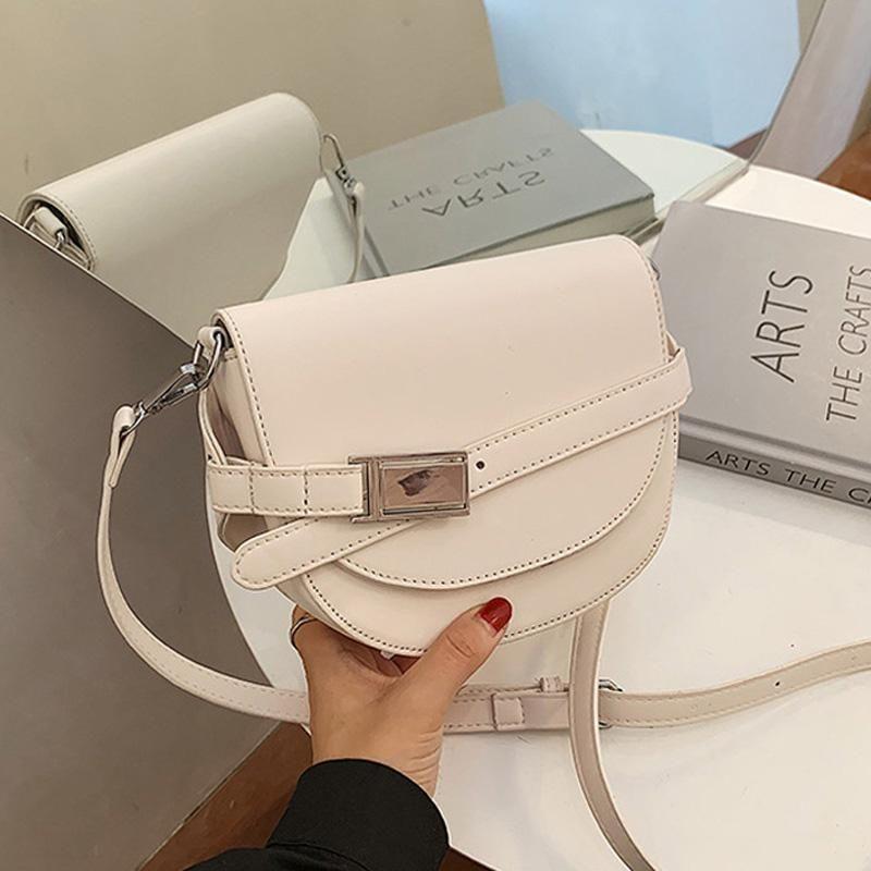 Leder und qualität pu geldbörsen handtaschen kleine taschen schulter frauen top weibliche einfache mode kette crossbody designer wdndq
