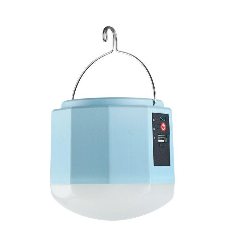 DC 5 V LED lampada solare all'aperto lampadina di emergenza lampada da campeggio USB luce di ricarica mobile 5 interruttore ingranaggio liberamente