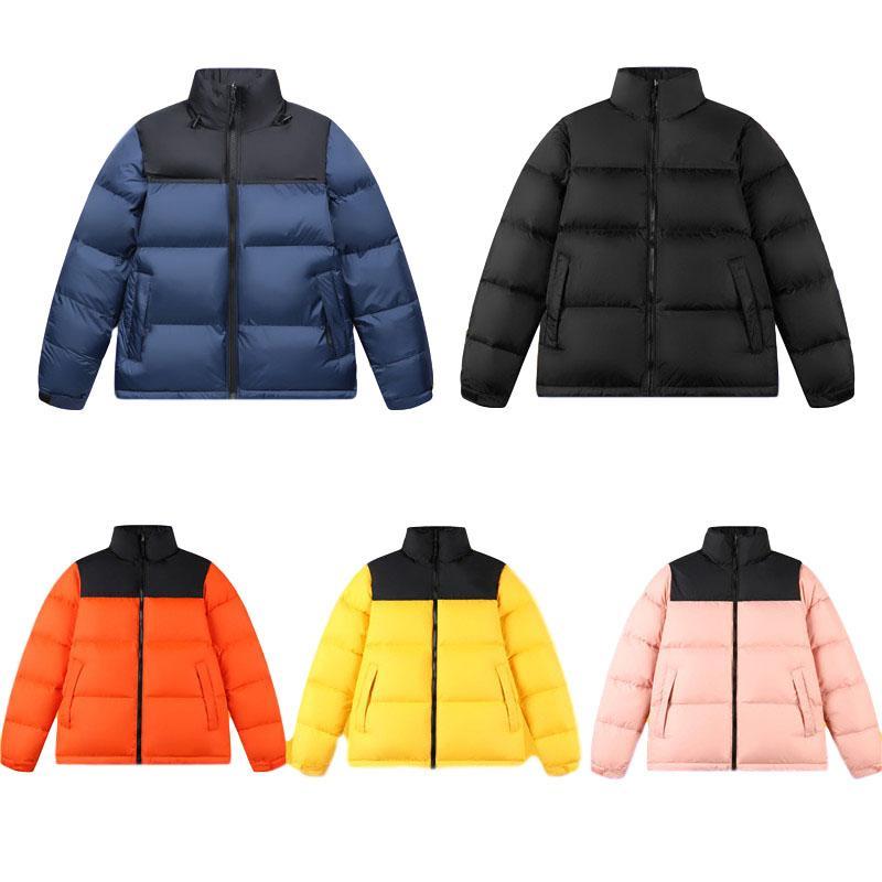 TNF giù il cappotto del rivestimento del cotone degli uomini esterni del 1996 e gli amanti della giacca coreana caldi di modo casuale delle donne