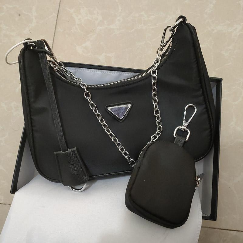 Bolsa de lona de hombro Crossbody Bolsas de alta calidad Compras Bolsa en forma de corazón Nuevos bolsos de nylon Decoración al por mayor CVDDC