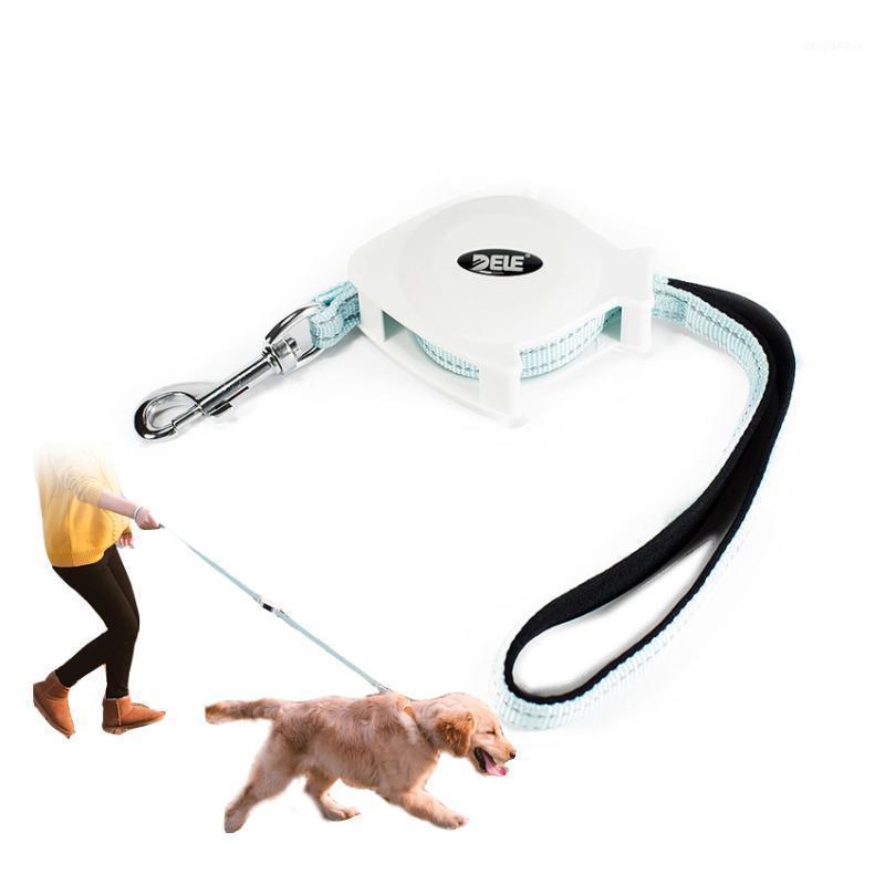 Automatische einziehbare Hundeleine Bidirektional einstellbar Traktionsseil Outdoor Safety Walking Leashes für Hunde Pet Zubehör1