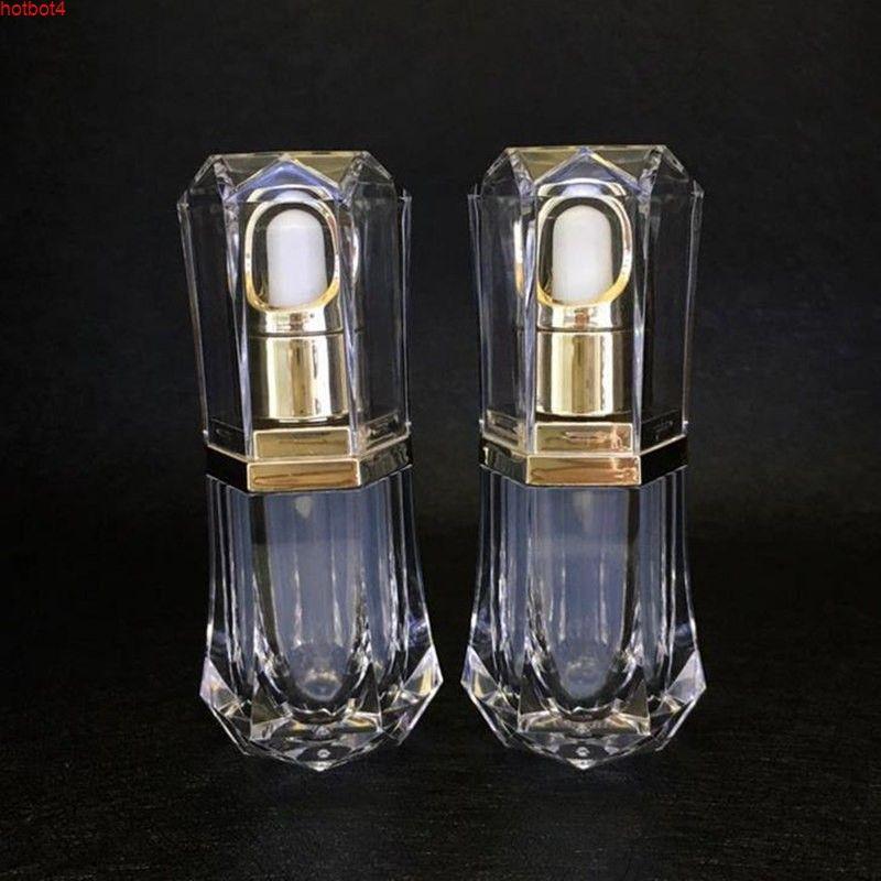 10 мл высококачественных акриловых золотых парфюм / эфирное масло / косметика стекло упаковочная бутылка F20171730Good Qualityity