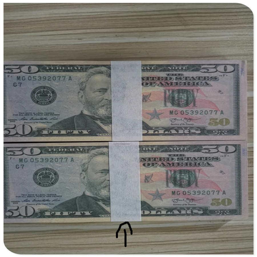 Jouer jouets maison 50 billets de banque américains dollars pièces enfants de l'école élémentaire simulation récompense l'apprentissage à reconnaître l'aide pédagogique de l'argent
