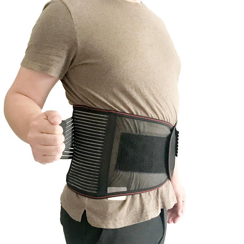 남성용 허리 트레이너 사우나 땀 허리 트리머 Cincher Slimmer Belt Neoprene Fitness Body Shaper Workout Gildle