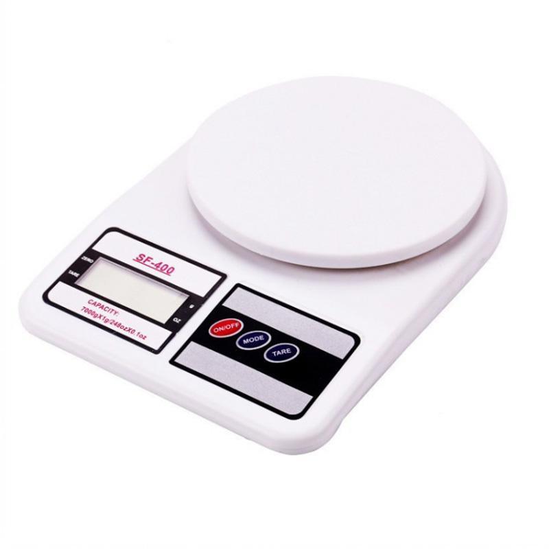 Ванная комната Кухонные весы Высокая точность Электронная бытовая Выпечка Цифровой масштаб Проверьте до 5 кг