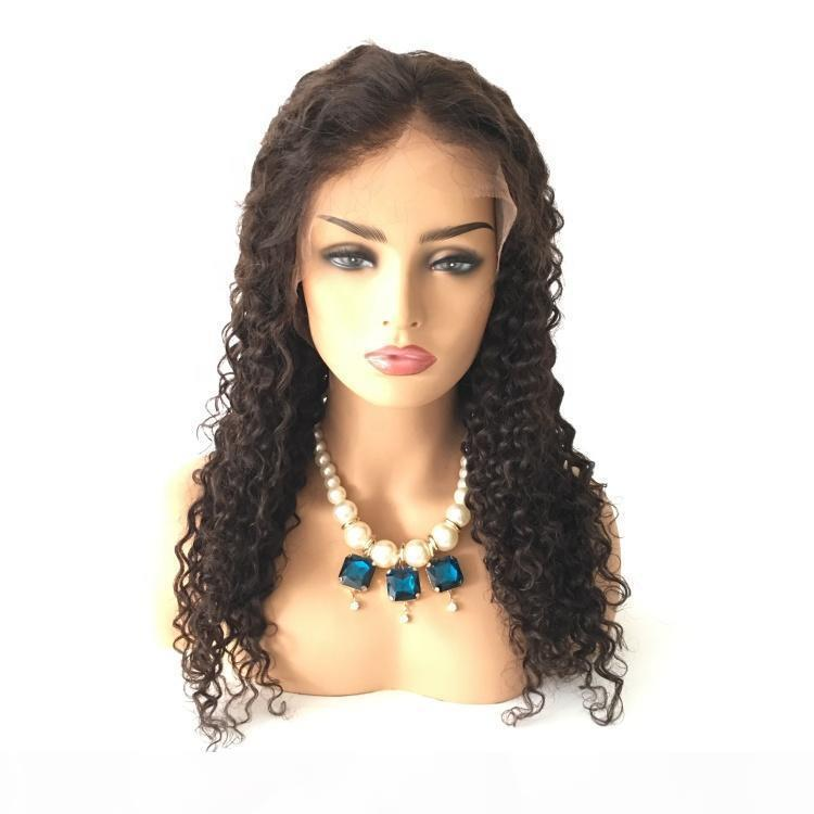 Brazilian Human Hair Lace Front Wigs Virgin Hair Curly Glueless 360 Lace Wigs For Black Women Pre-Plucked Lace Front Wigs With Baby Hair
