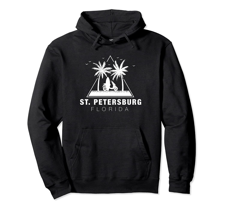 Floride cadeaux - Saint-Pétersbourg Sweat à capuche unisexe Taille S-5XL avec Couleur Noir / Gris / Marine / Bleu Royal / Dark Heather