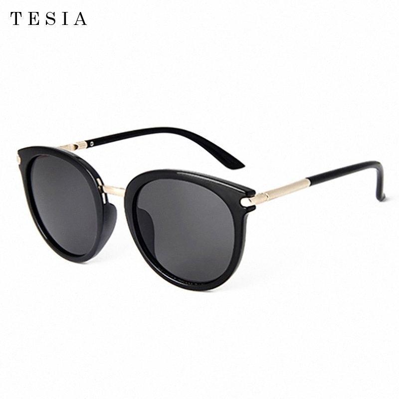 2020 óculos de sol das mulheres do vintage Cat Eye Espelho revestimento de lente Womens Sunglasses Óculos de Sol Feminino CUQj #