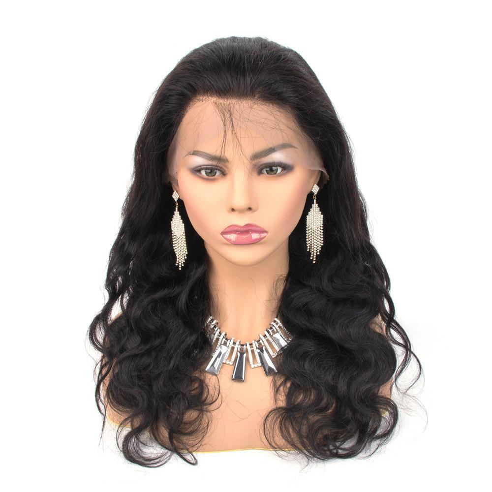 2020 HD شفافة الرباط الجبهة شعر الإنسان الباروكات الدنتلة كامل الدنتلة قبل التقطه البرازيلي الجسم موجة 360 الدانتيل أمامي الباروكة مع شعر الطفل ريمي