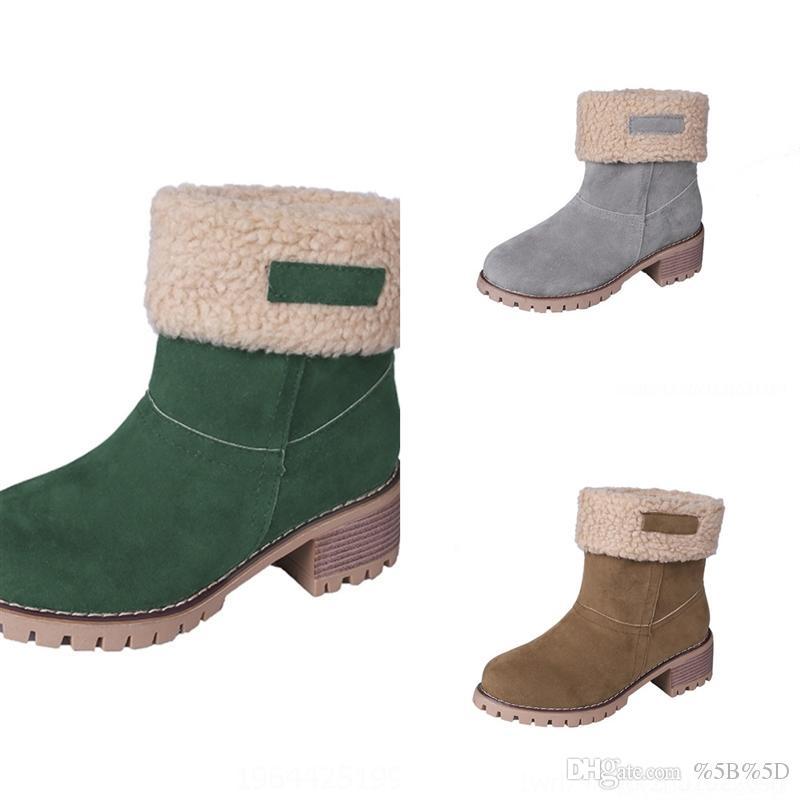 JLD Rhin-Perceuse à la cheville Boot joint avec botte de super-héros Diamant Diamond Rhubarbe Boot Boot femelle Amoureux de coups d'eau brisé Waterfootsboots hiver en plein air non