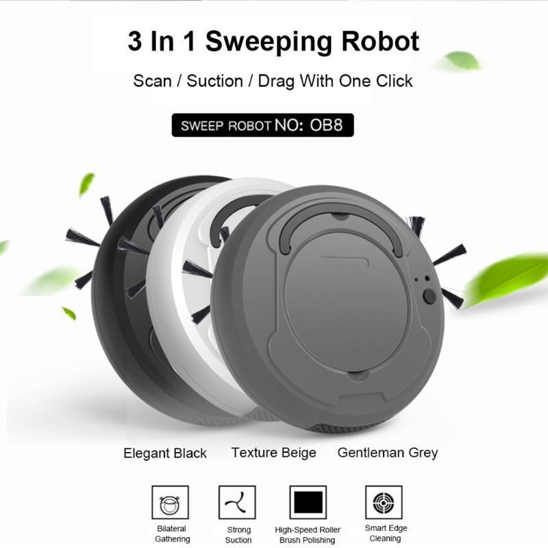 Reinigungsmaschine Roboter-Staubsauger 1800 Intelligent Pa Multi-Funktions-Drei in einem Lade Staubsauger Kehrmaschinen