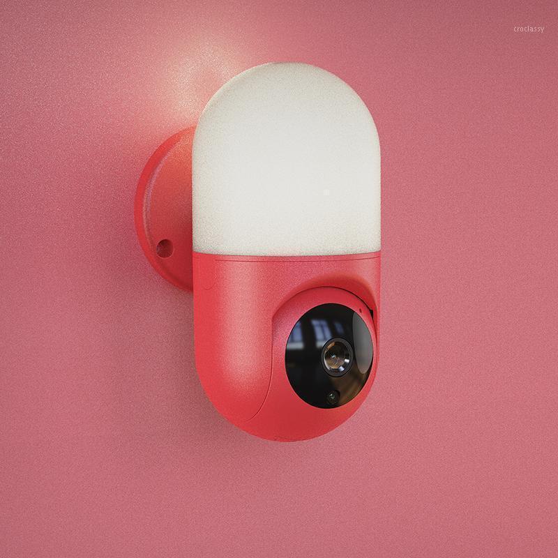 Câmeras 2MP 1080P Yoosee Wall Lamp 360 Grau Sem Fio PTZ Panoramic Câmera IP Intercomunicador Baby Monitor de Bebê Alarme de segurança CCTV Camera1