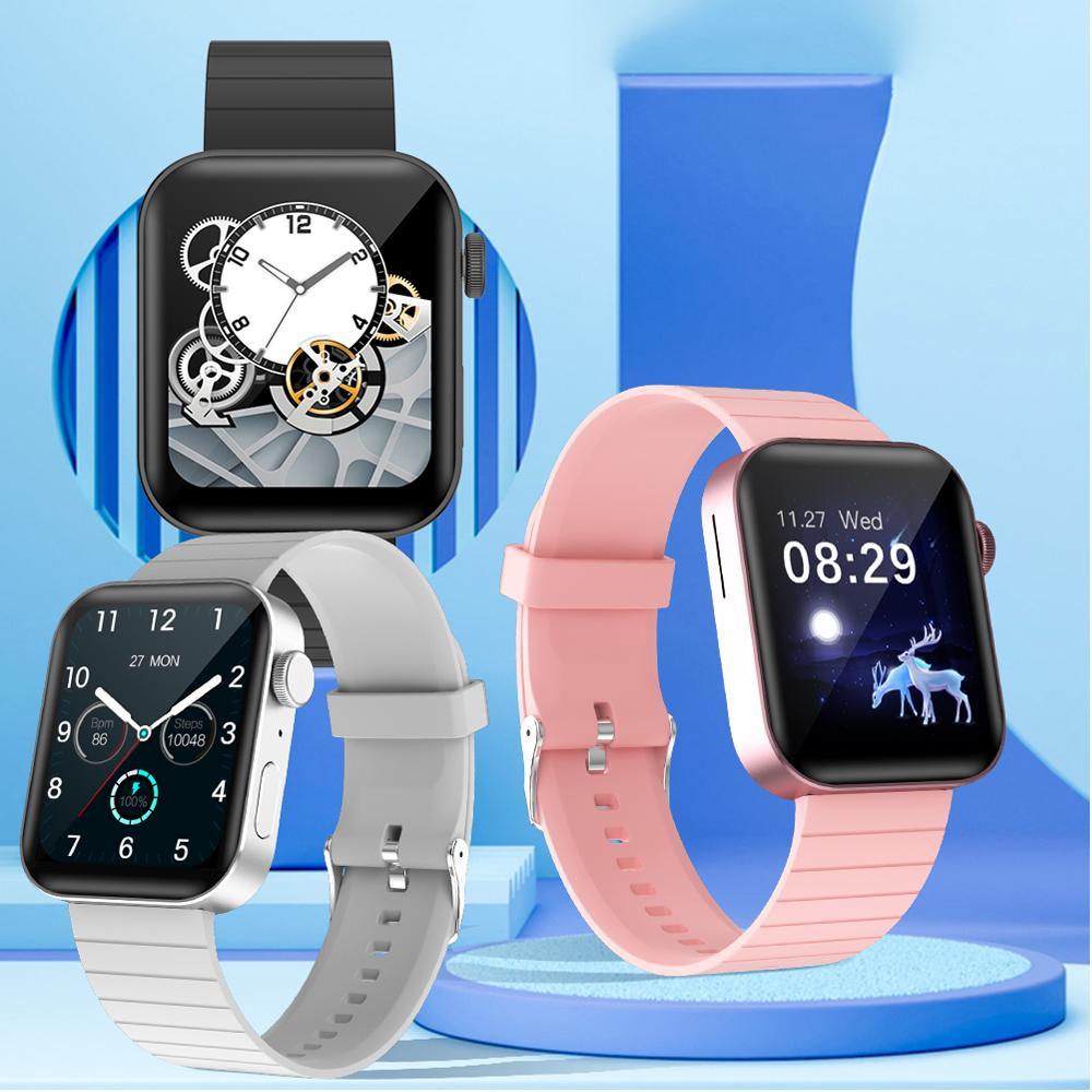 P40 1.65 inch Full Touch Smart Watch Men Women Fitness Tracker Bluetooth Call Smartwatch For xiaomi phone VS W26 P8